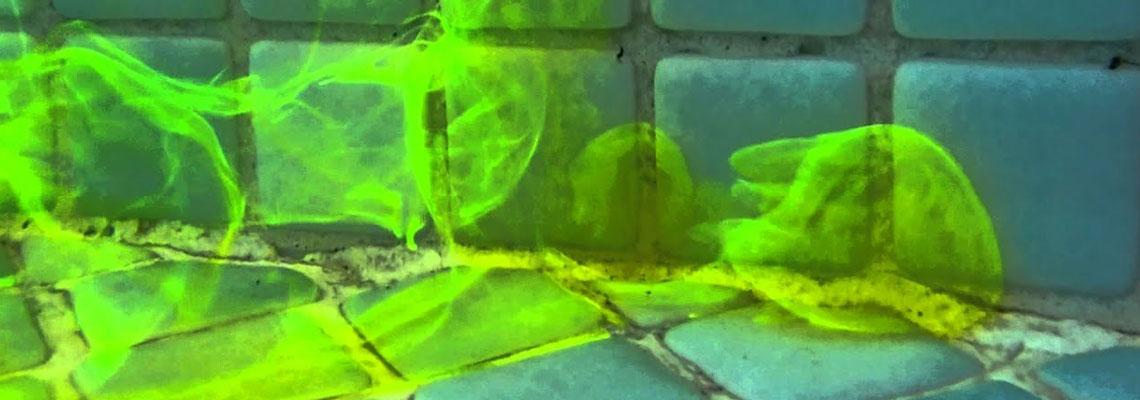 Recherche de fuite à la fluorescéine