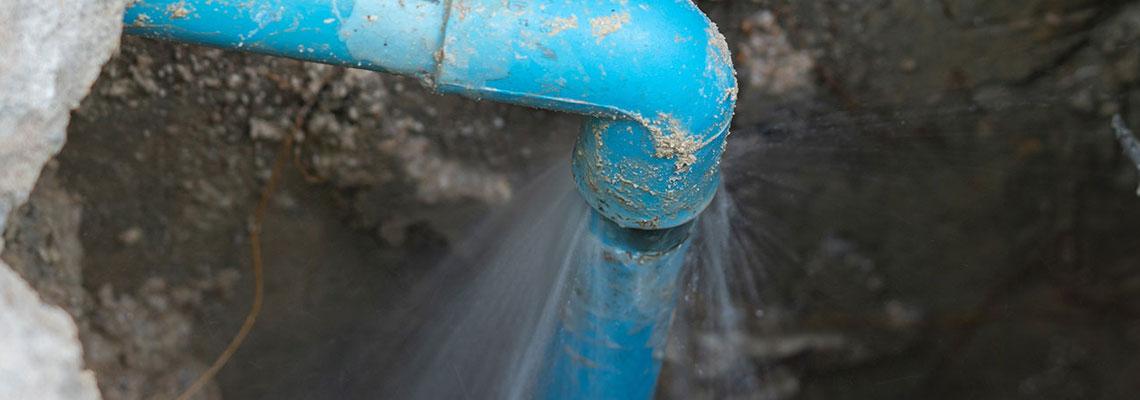 Détection fuite eau